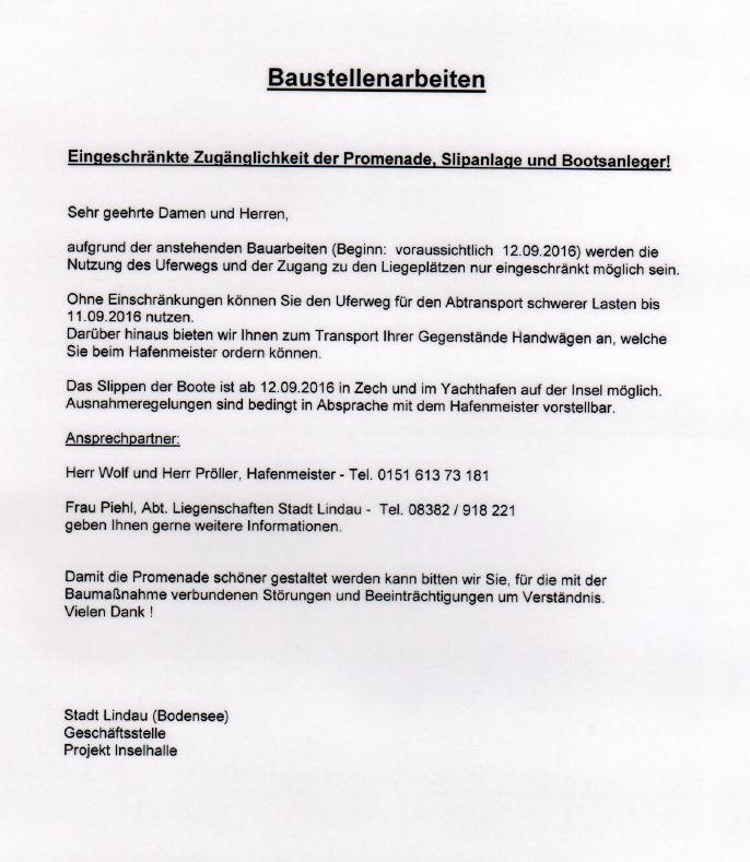 2016-09-06 Baustellenarbeiten Kleiner See